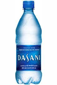 dasani bottle