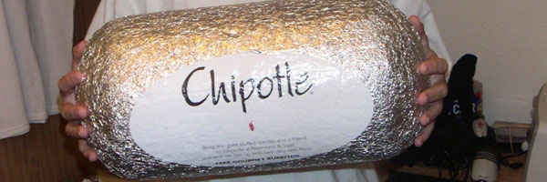 Chipotle Huge Burrito