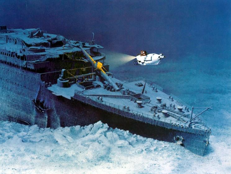 Robert Ballard Titanic
